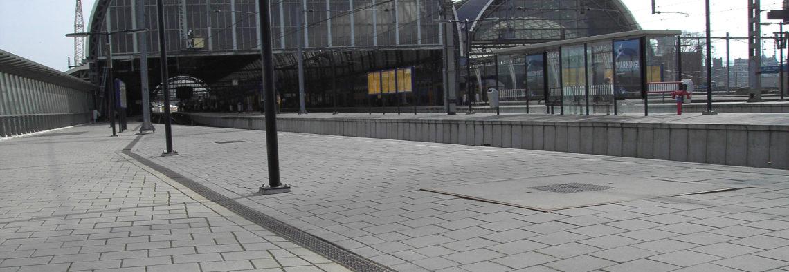 MEA Water Management - Referenzen Bahnhof Amsterdamm