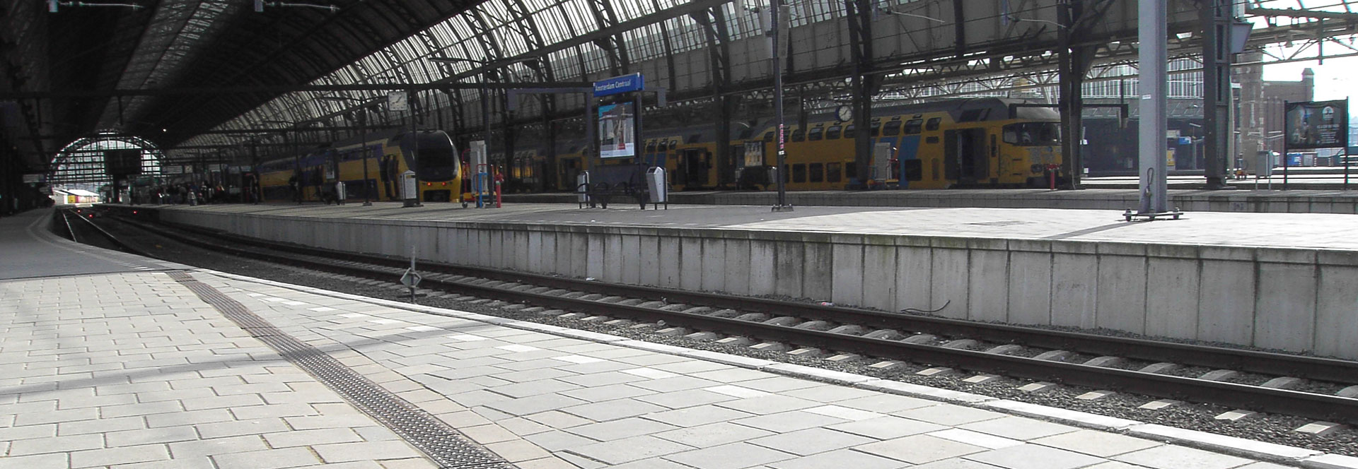 MEA Water Management - Referenzen Bahnhof Amsterdamm