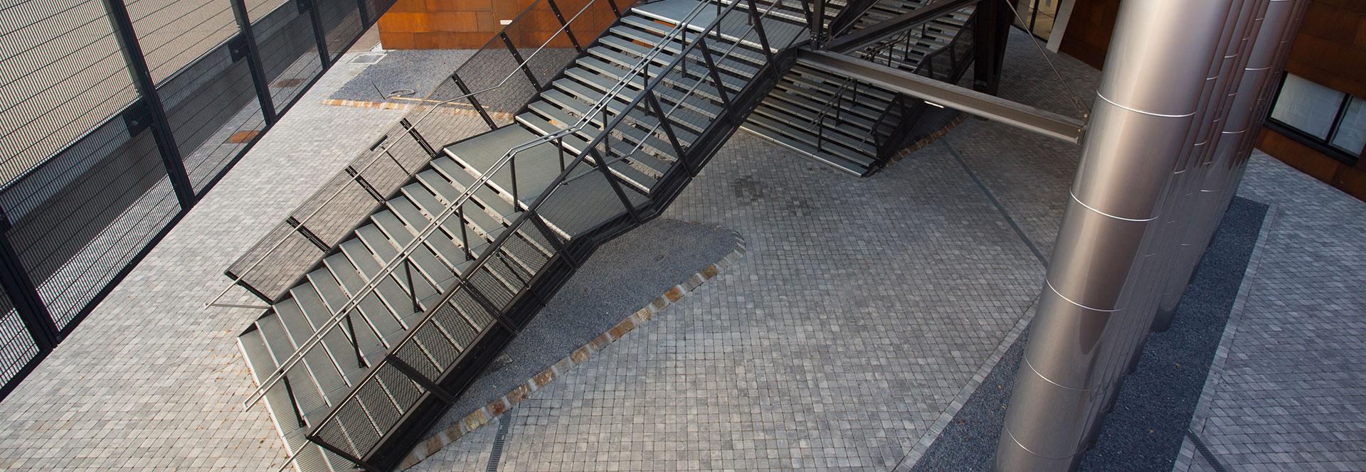 MEA Metal Applications - Referenzen Campus Wien