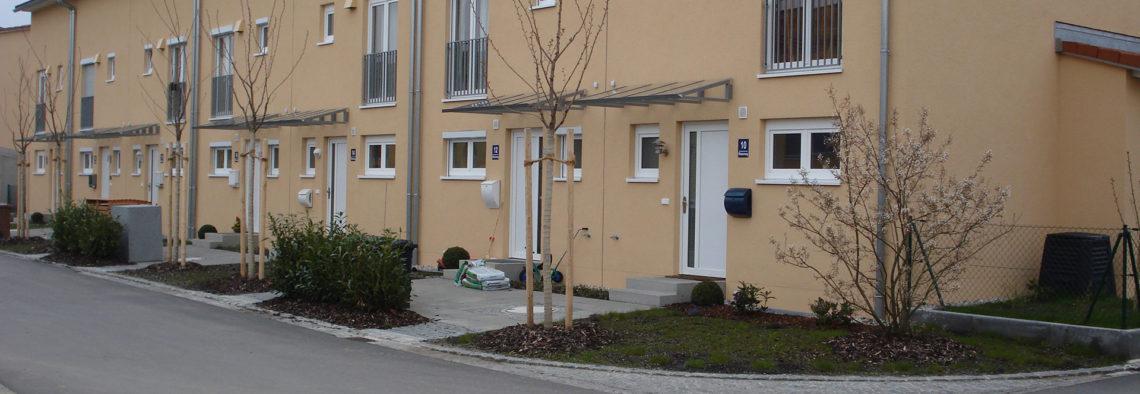 MEA Bausysteme - Referenzen Wohnanlage Neubiberg