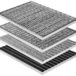 Fußabstreiferkästen aus Polymerbeton