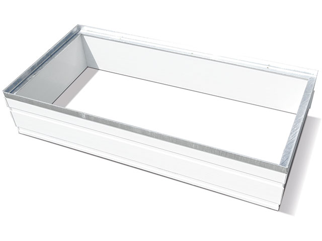 PVC-Aufsatz MEAFLEX für LICHTSCHÄCHTE
