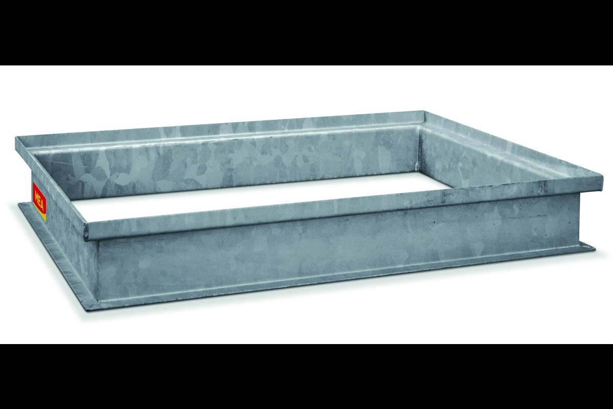 MEA Building Systems - Stahlaufsatz für Beton-Lichtschächte