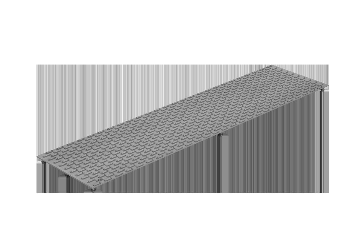 MEA Metal Applications - Gitterrostauflage MEAFLOOR genoppt