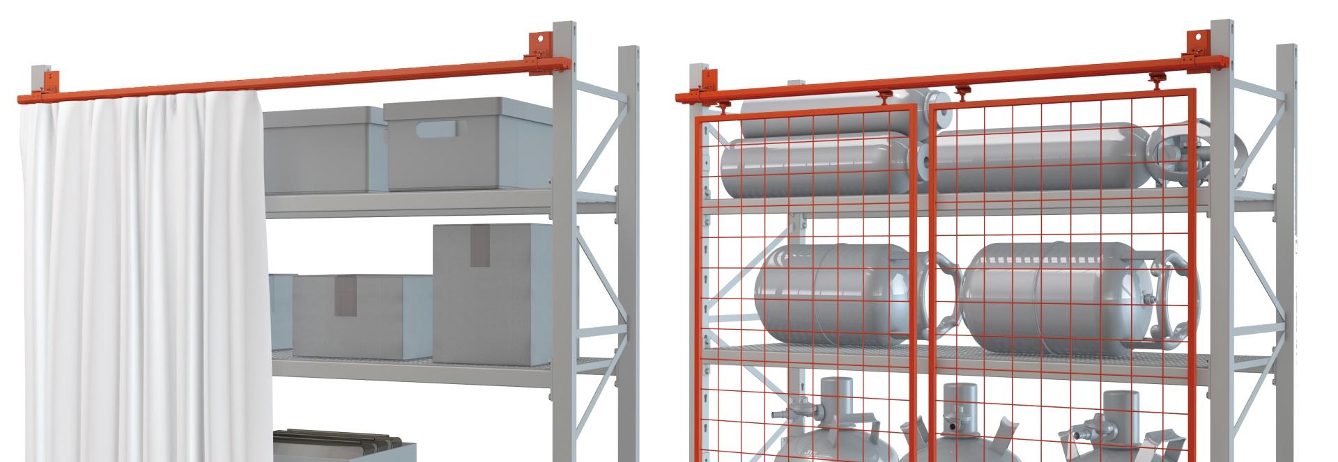 MEA Metal Applications - Produktfokus Schutzvorhang Schutzgitter