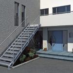 MEA Metal Applications - Treppenbausatz MEASTEP
