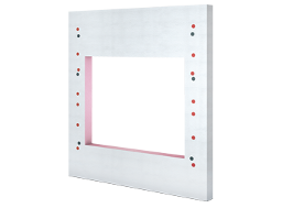 Insulated mounting panels