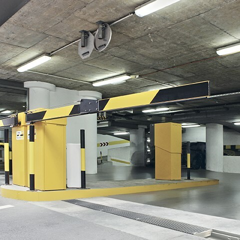 Parkhaus Einfahrt MEARIN EXPERT