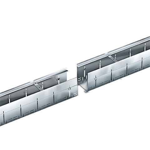 Drainage Channel MEATEC for facades and terrasses