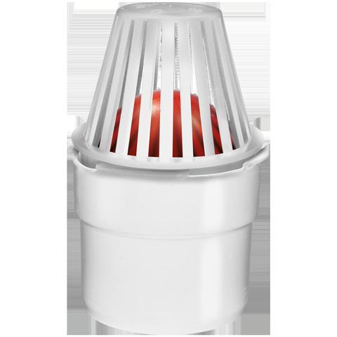 Entwässerungsanschluss Ø 80mm mit Schmutzsieb inkl. Geruchsverschluß