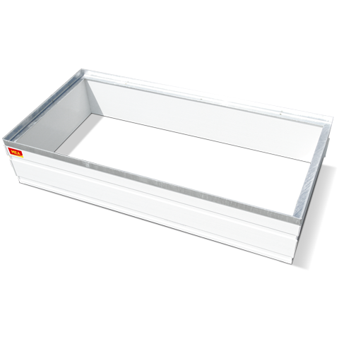 PVC attachment MEAFLEX for light wells