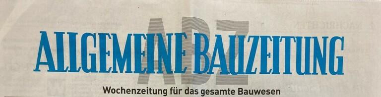 Allgemeine Bauzeitung KW 34