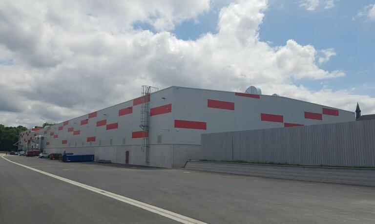 Eröffnung der neuen Produktionshalle