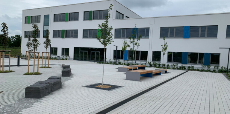 DRAINAGE SOLUTION FOR A MODERN CAMPUS