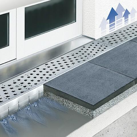 Caniveau MEATEC drainage des eaux de pluies