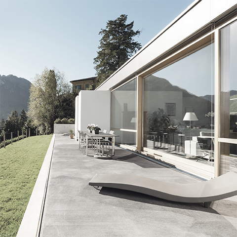 Système de drainage pour terrasses et façades MEATEC