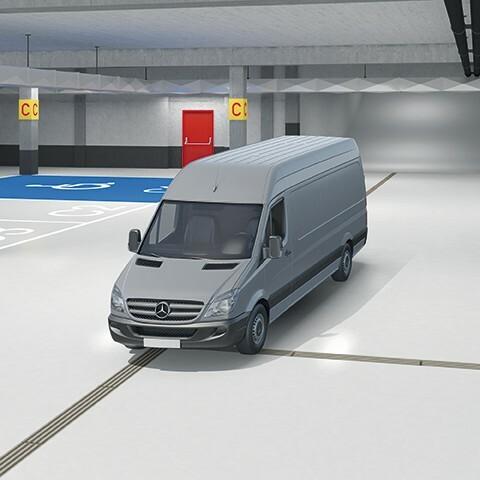 Caniveau pour parking MEADRAIN PG robuste