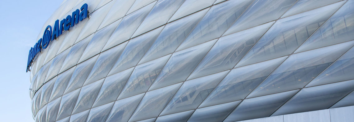 MEA Metal Applications - Referenzen Allianz Arena München