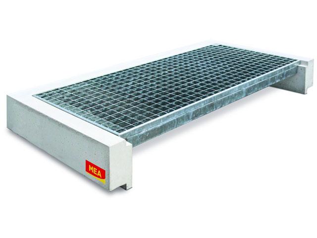 MEA Building Systems - Betonowa nakładka dla doświetlaczy betonowych