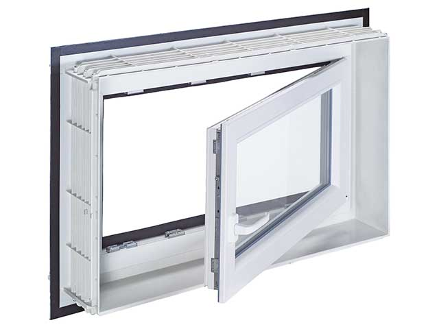 MEA Building Systems - Okno ościeżnicowe system MEALUXIT