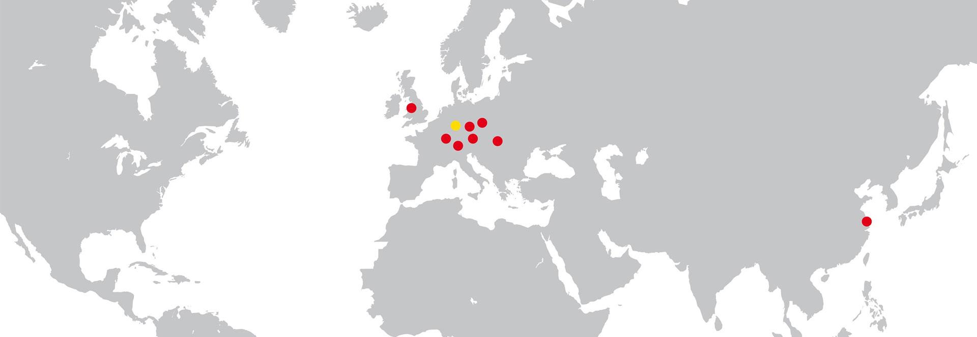 MEA Group - Siedziby
