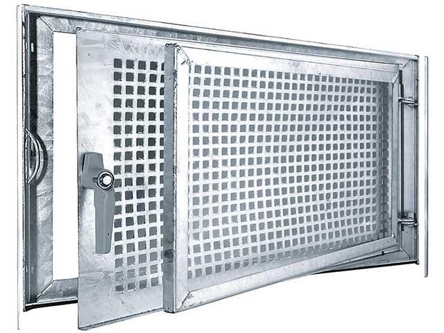 MEA Building Systems - Stalowe okno piwniczne MEALIT