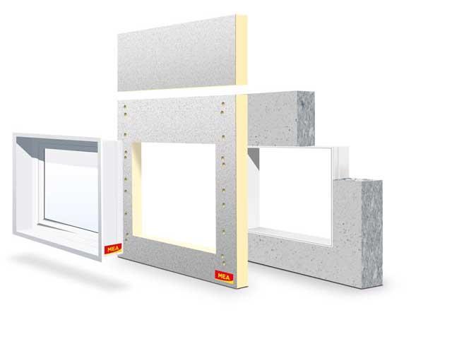 MEA Building Systems - Okno ościeżnicowe MEAFIX