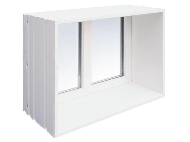 MEA Building Systems - Okno ościeżnicowe MEAVARIO individual