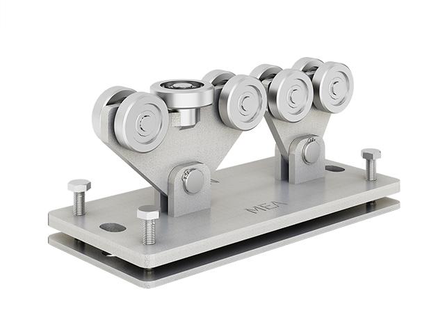 MEA Metal Applications - Urządzenia rolkowe do bram samonośnych