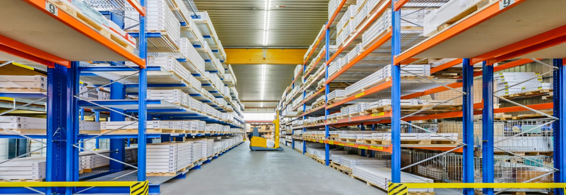 MEA Metal Applications - Logistyka, budowa regałów i przepływ materiałów