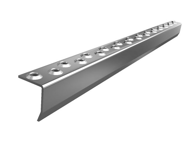 MEA Metal Applications - Safety step edge non galvanised